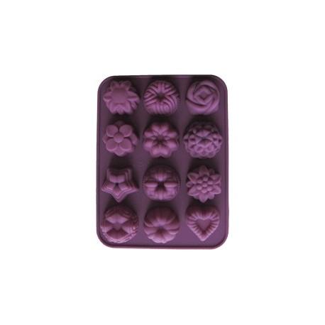 Formy na mýdla nebo čokoládu - kytičky