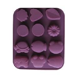Formen für Seifen oder Schokolade - Kindermotive