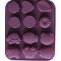 Formy na mýdla nebo čokoládu  - dětské motivy