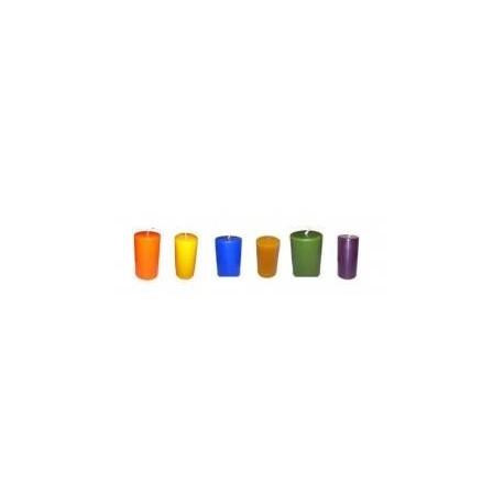 Farben zum Kerzenmachen
