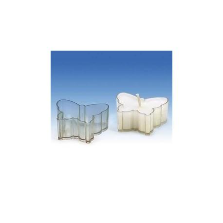 Kunststoffform für kleine und Teekerzen SCHMETTERLING