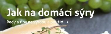 výroba domácích sýrů
