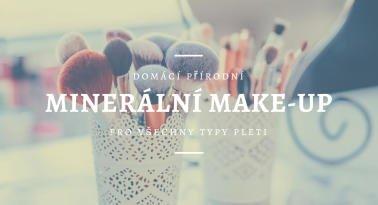 Domácí minerální make-up pro všechny typy pleti