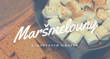 Domácí marshmallows s javorovým sirupem